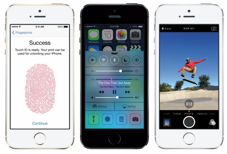 Apple prodal za první víkend 9 miliónů iPhonů 5s a 5c
