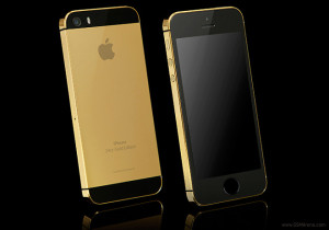 iPhone 5S - zlatý