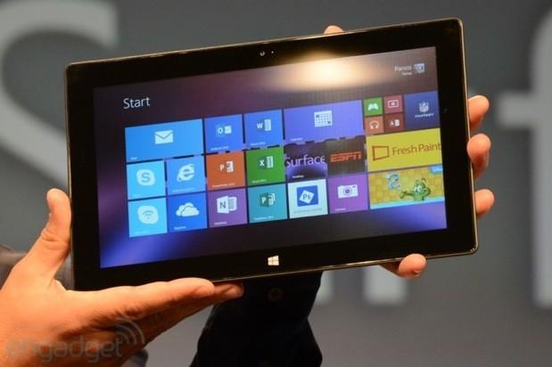 Microsoft představil druhou generaci tabletů Surface