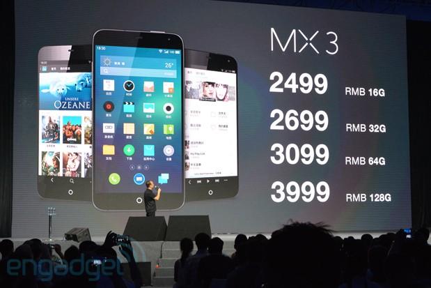 Meizu MX3 – 8 jader místo 4+4 [aktualizováno]