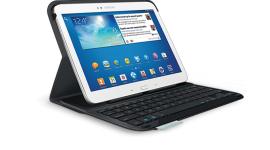 Logitech Folio: ochranné pouzdro s vestavěnou klávesnicí pro Samsung Galaxy Tab 3