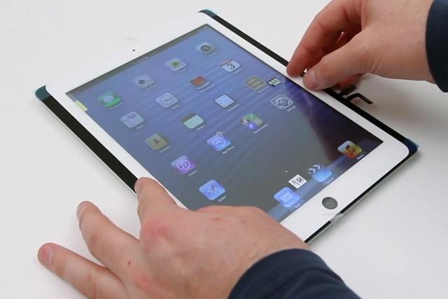 iPad 5 je více podobnější iPadu Mini [video]