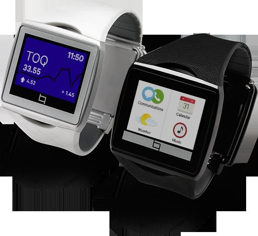 Qualcomm představil unikátní hodinky Toq s Mirasol displejem