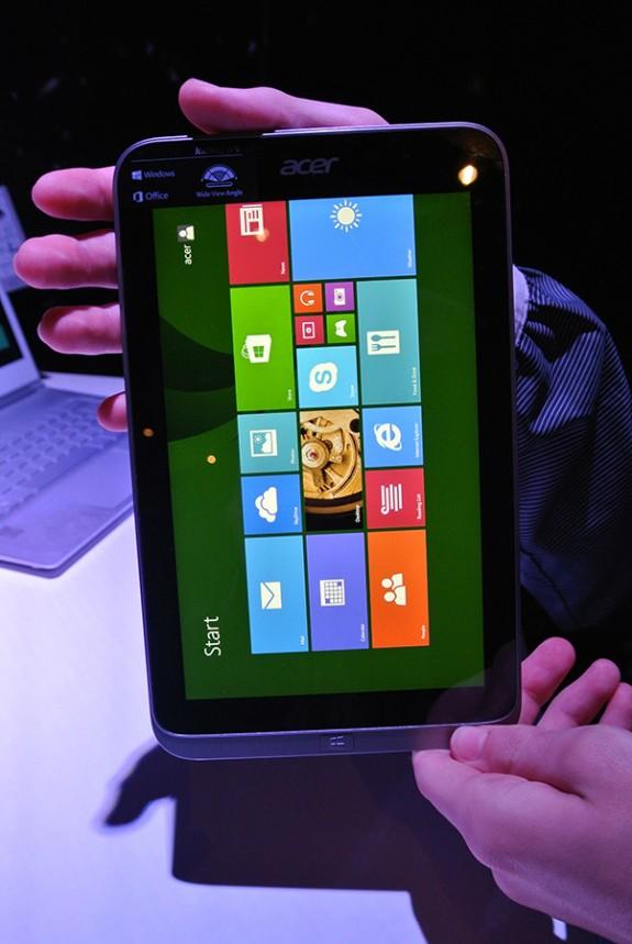 Acer chystá tablet Iconia W4 s Windows 8 a procesorem Intel