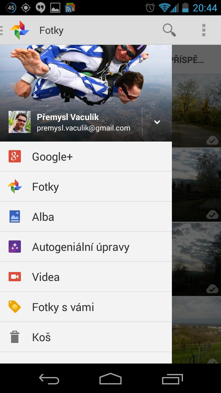 Google+ pro Android získává aktualizaci