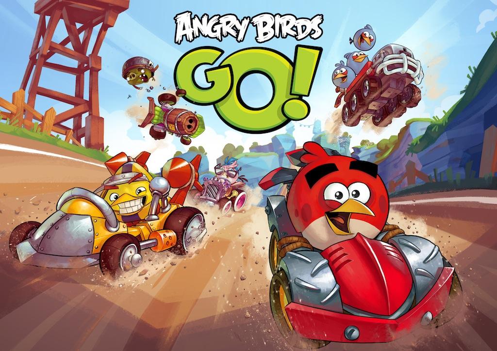 Připravte se na jízdu s Angry Birds Go!