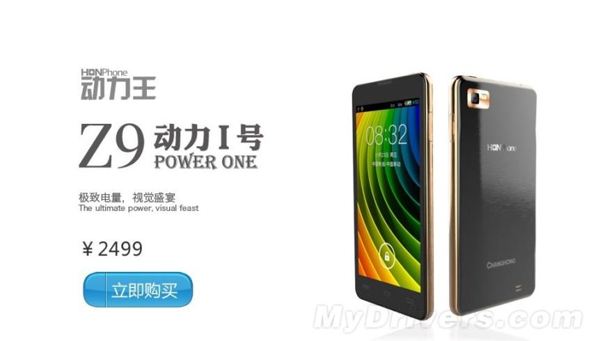 Changhong Z9 upoutá velikostí, výkonem a výdrží