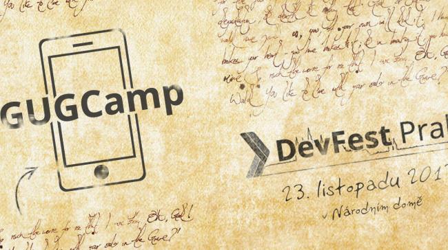 GUGCamp se odehraje 23. 11. v rámci vývojářského festivalu DevFest.