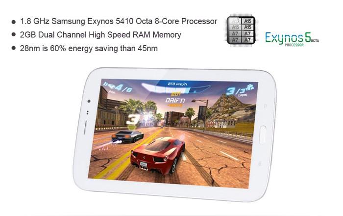 GooPad N8: 4+4jádrová verze Galaxy Tab 3