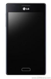 LG Fireweb - přední panel