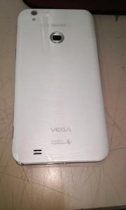 Pantech Vega Note - zadní část