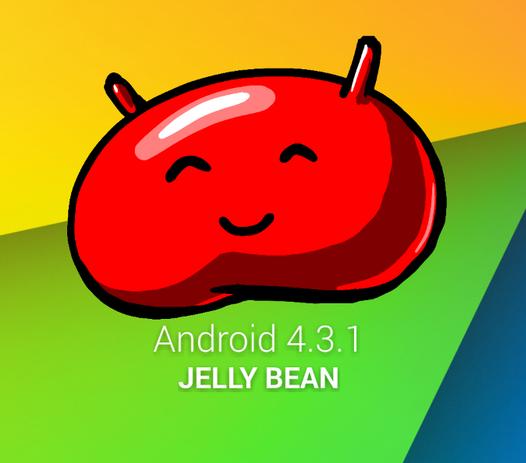 Android povýšil na verzi 4.3.1 Jelly Bean