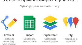 Nová aplikace Google Maps Engine