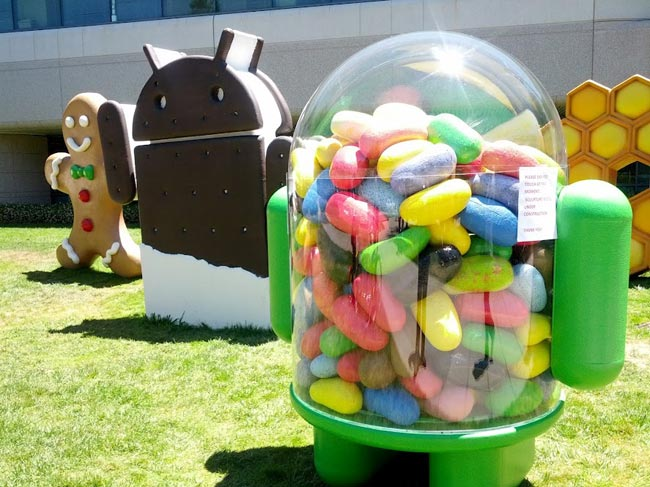 Android Jelly Bean je skoro na 50 % zařízení [statistika]