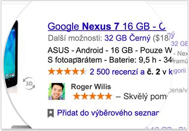 Google může použít vaše jméno a fotku pro reklamní účely