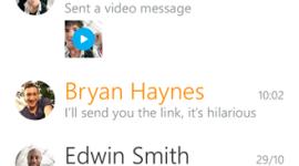 Nový Skype pro Windows Phone přináší videozprávy