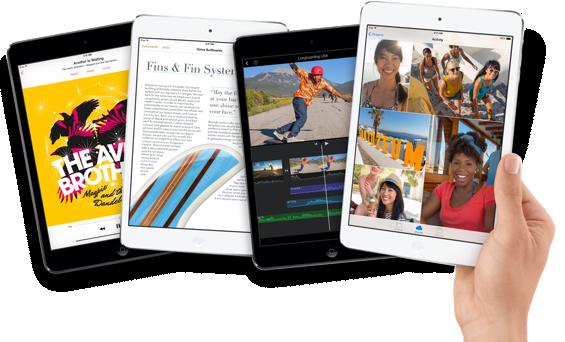 iPad mini 2 – konečně s Retinou