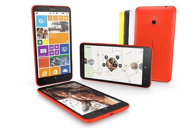 Nokia představila Lumii 1320 – nový 6″ telefon střední třídy