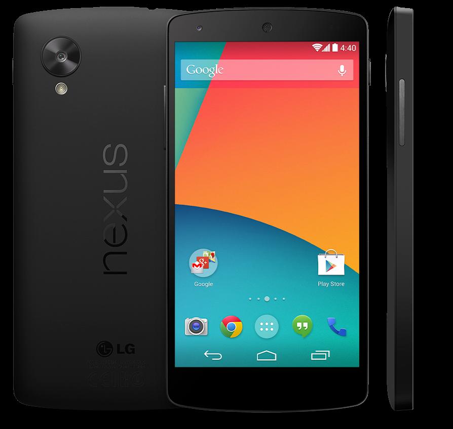 Google Nexus 5 oficiálně představen