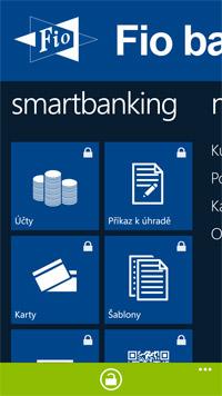 Fio banka představila aplikaci pro Windows Phone