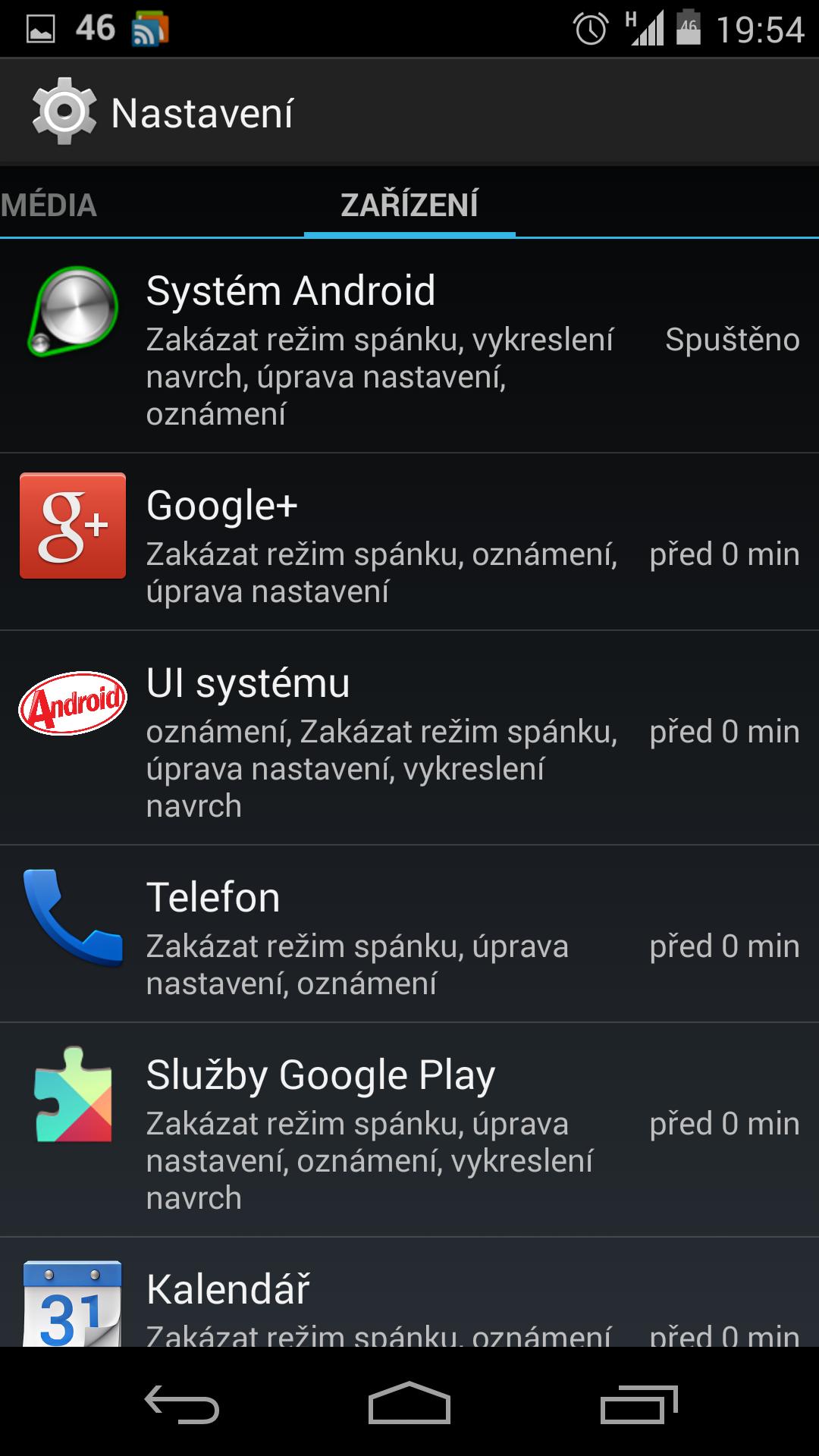 App Ops (nastavení oprávnění) se nedočkáme?!