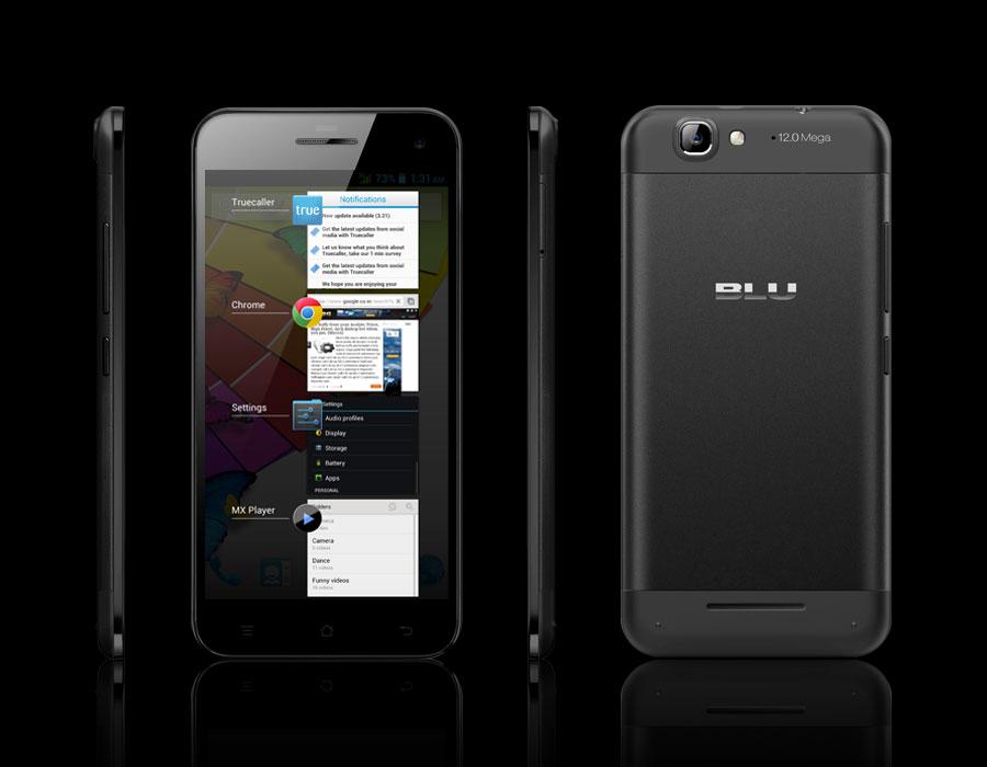 Blu Life Pro: Světově nejtenčí HD telefon s 5 palci