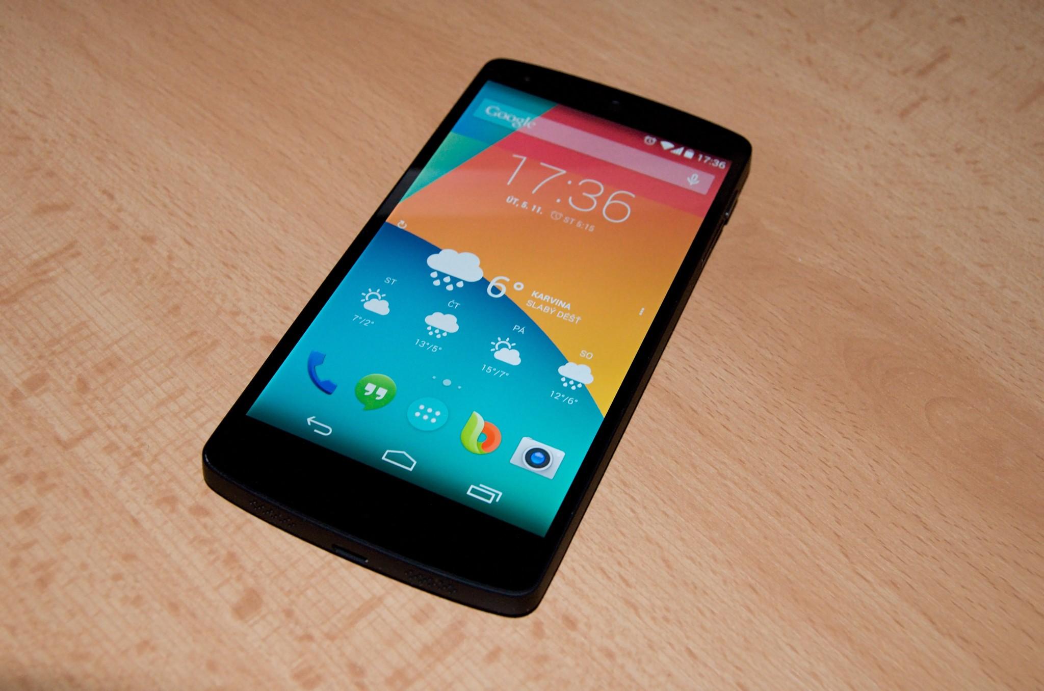 Nexus 5 získává díky úpravě kernelu funkci probudit poklepáním