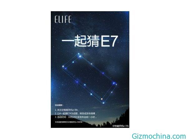 Gionee Elife E7: čínská novinka s 2K displejem na konci roku
