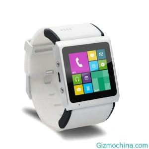 Goophone Smart Watch - bílé provedení