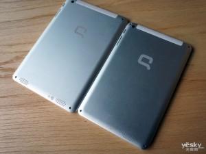HP Compaq - zadní část