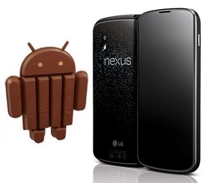 Nexus 4 má problémy s aktualizací na Android 4.4