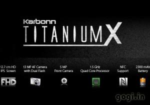 Karbonn Titanium X - specifikace