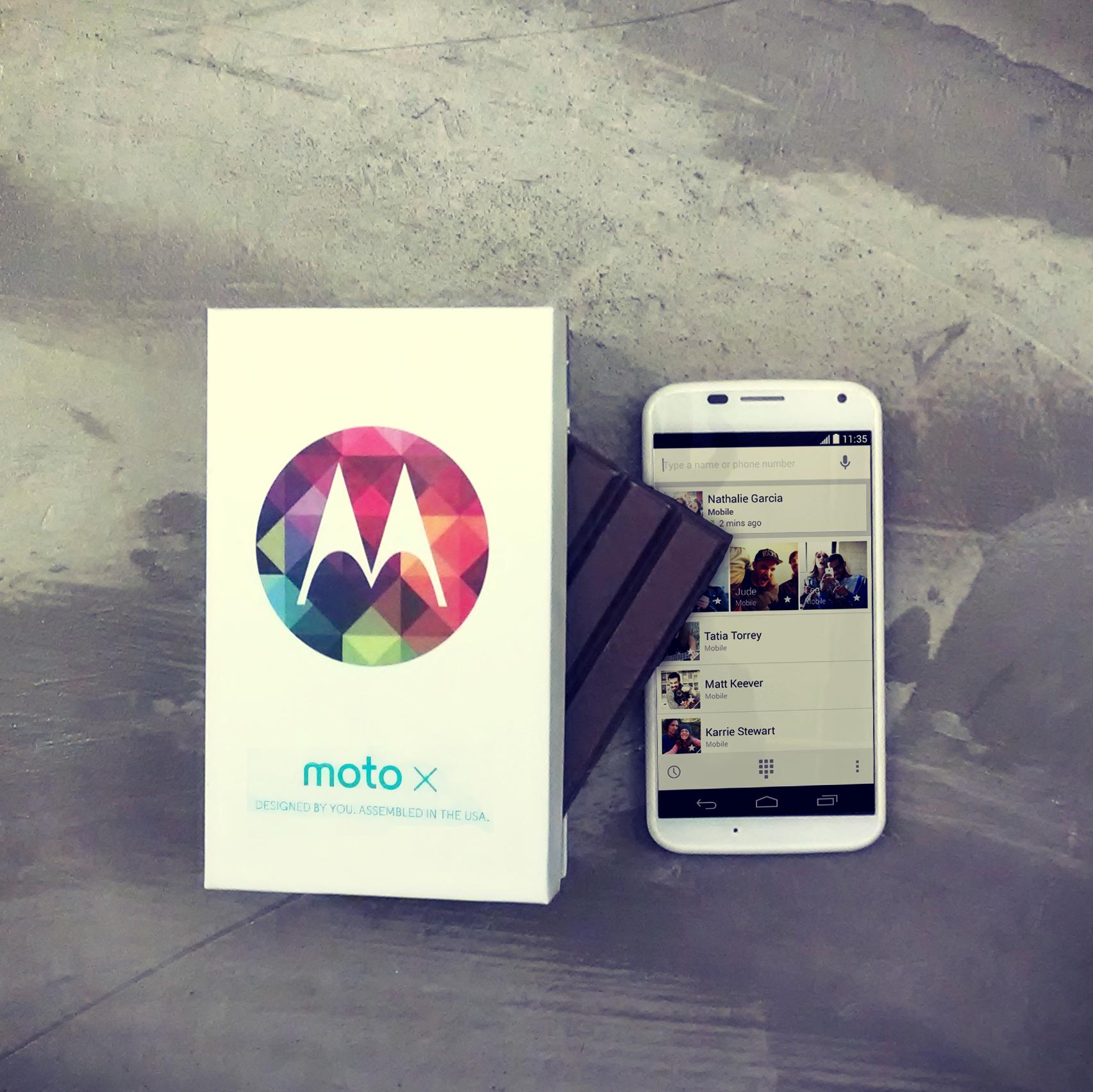 Moto X dostává Android 4.4 KitKat!?