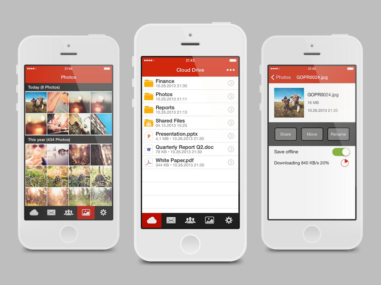 Cloudové úložiště Mega konečně pro iOS