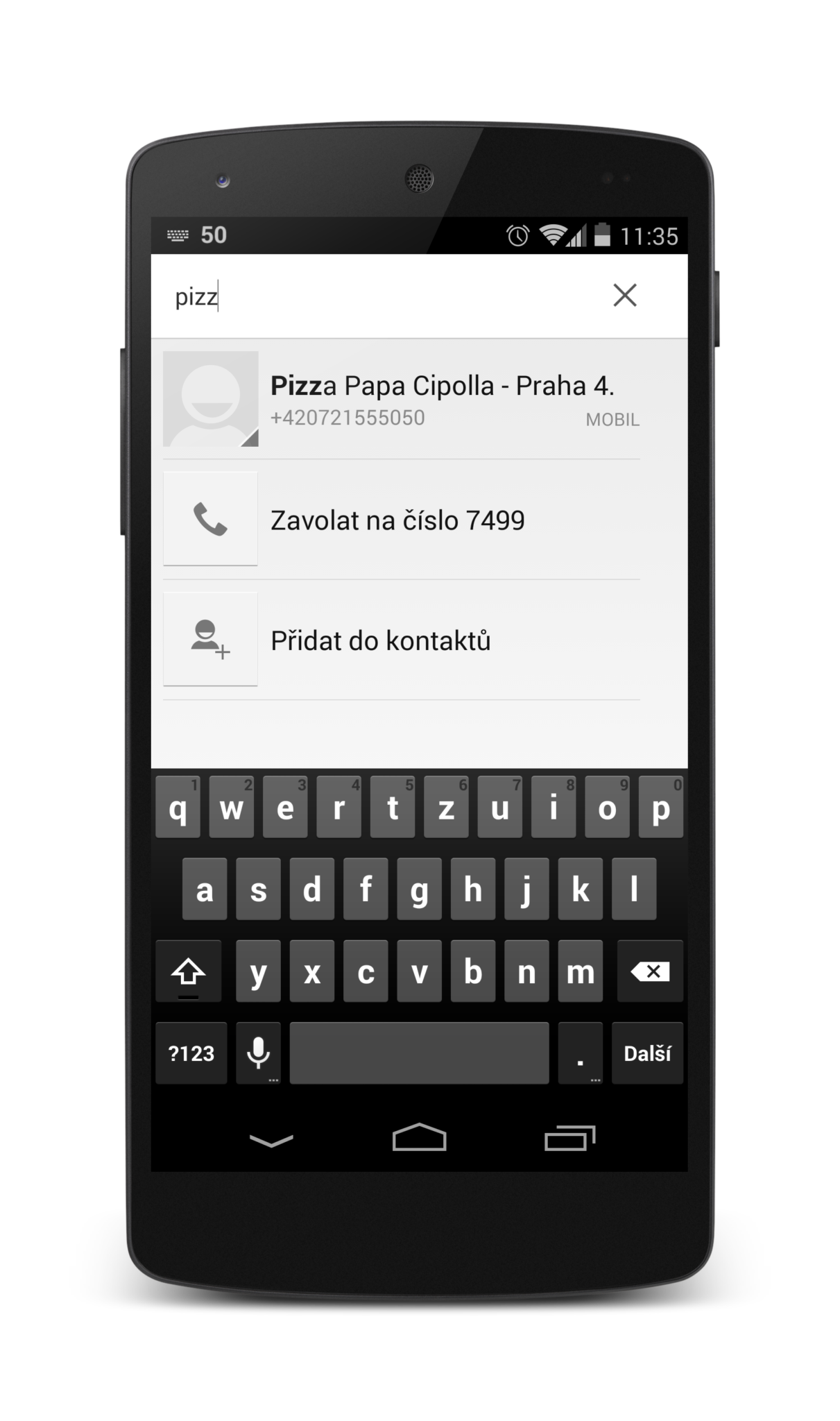 Chytrý Google Dialer z Nexusu 5 ke stažení