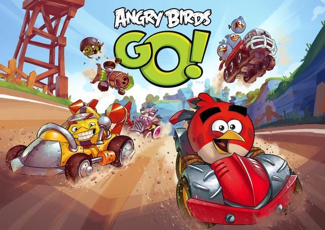 Angry Birds Go! oficiálně ke stažení