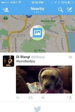 Twitter Nearby – testuje se další novinka