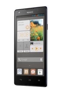 Huawei Ascend G700 - černá varianta - přední část