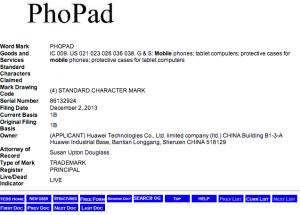 Huawei PhoPad