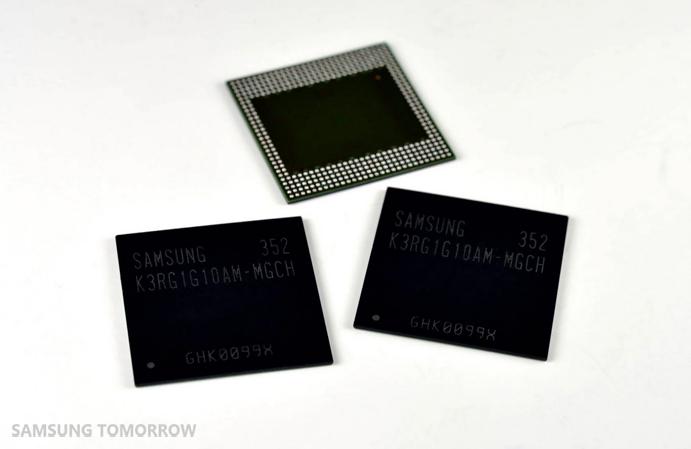 Samsung – 4GB RAM pro smartphony a tablety