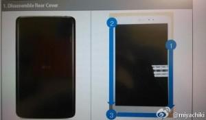 LG V510 - možná Nexus 8 - konstrukce