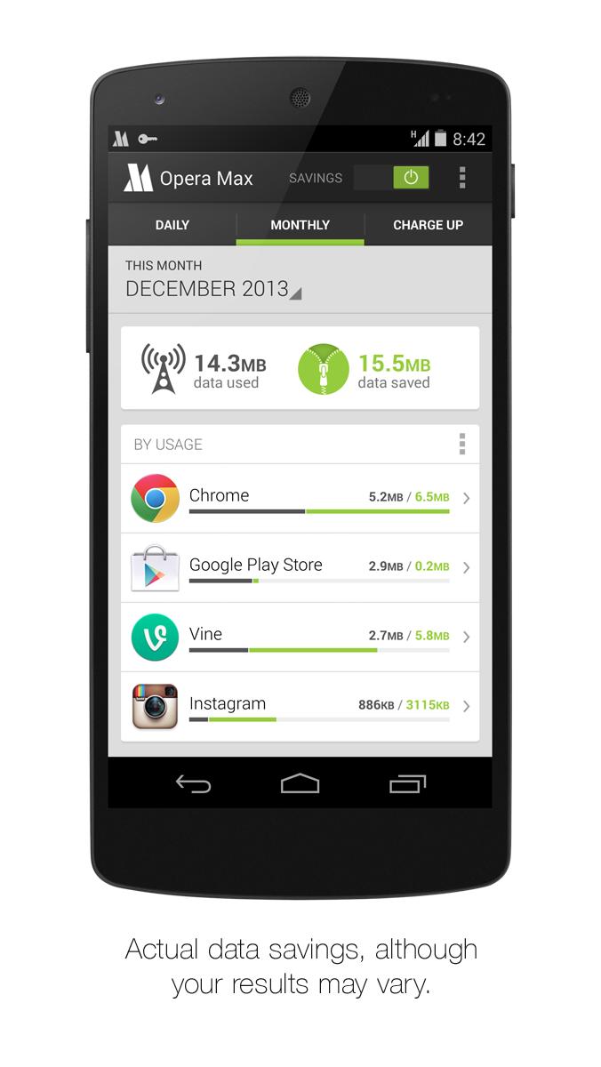 Opera Max sníží datovou náročnost některých aplikací