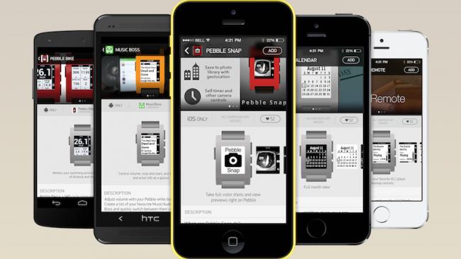 Pebble otevře vlastní obchod s aplikacemi