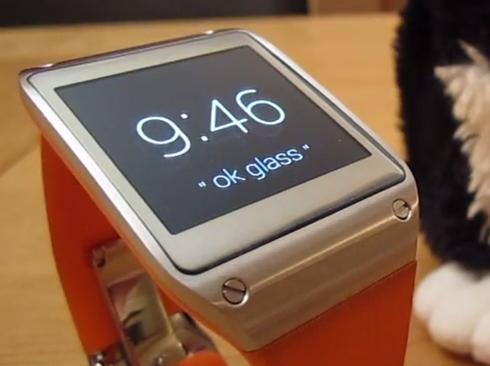 Z Google Glass do Galaxy Gear – ukázka budoucích hodinek od Googlu?