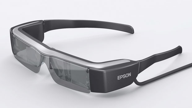 Chytré brýle od Epsonu s názvem Moverio BT-200
