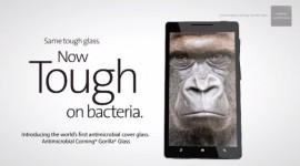 Corning uvedl světově první antibakteriální ochranu displeje