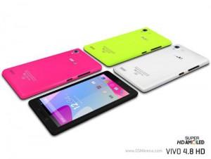 BLU Vivo 4.8 HD - neonové barvy