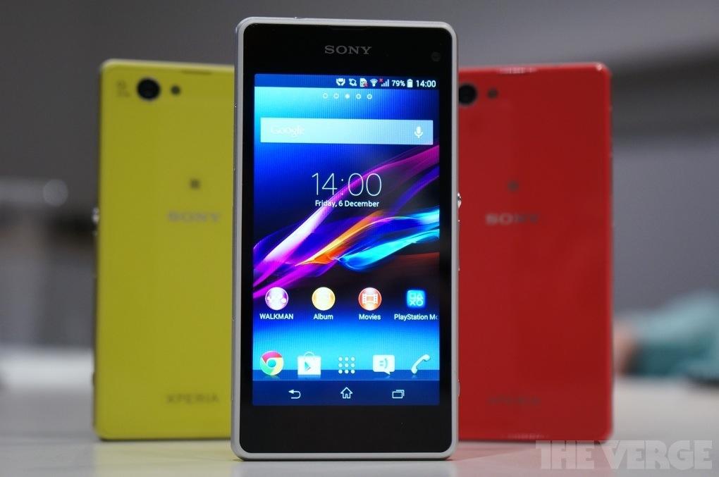 Sony představilo Xperii Z1 Compact a Z1S