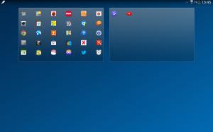 Samsung Galaxy Note 10.1 2014 Edition - Funkce pinch-zoom v hlavním menu