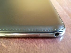 Samsung Galaxy Note 10.1 2014 Edition - Levá hrana